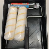 230mm paint tray 2 x 230mm roller covers 230mm frame